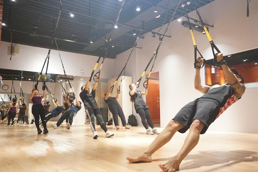 TRX懸吊訓練